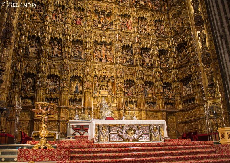 Altar catedral sevilla