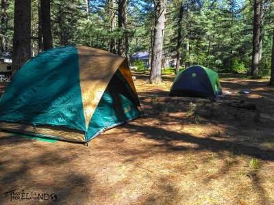 Fin de semana de Camping en Cyprus Lake