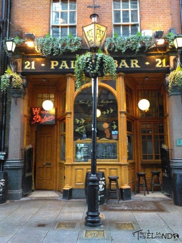 Bar tradicional en Dublín