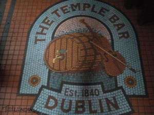 El suelo the temple bar
