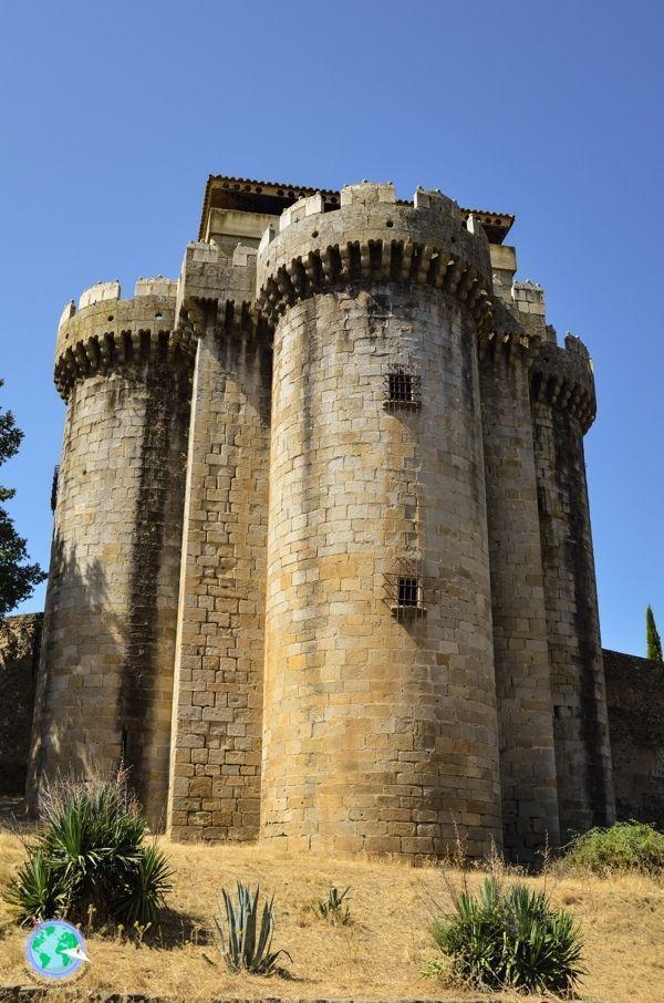 Torre de control en la entrada