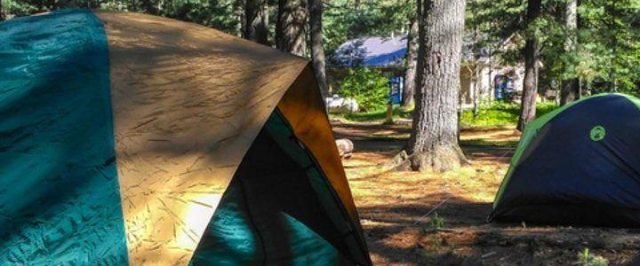 Camping ciprus lake