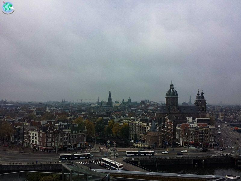 Vistas desde el SkyLounge Ámsterdam