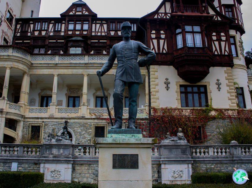 Escultura del rey Juan Carlos I