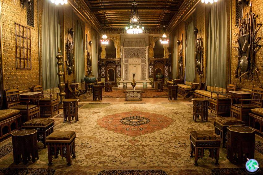 Habitación con decoración árabe