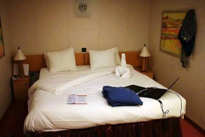 Staterooms on Carnival Dream Cruise Ship comfortable beds