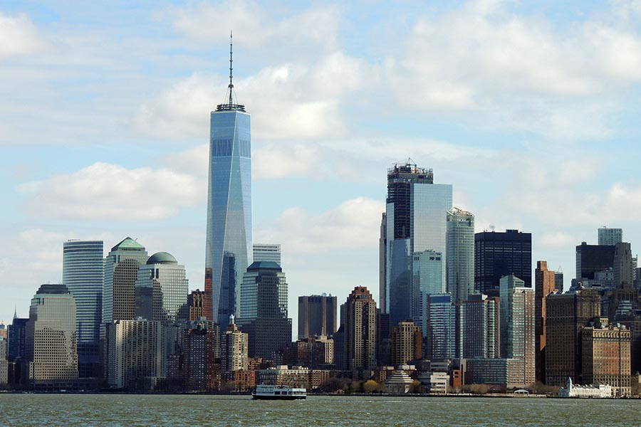 Lower Manhattan Skyline
