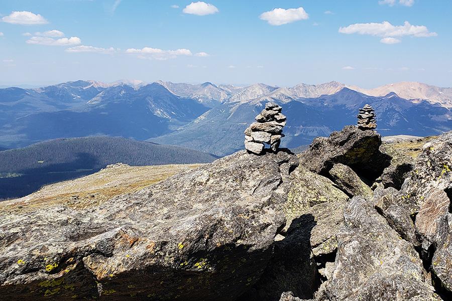 Beautiful Views on the Rockies
