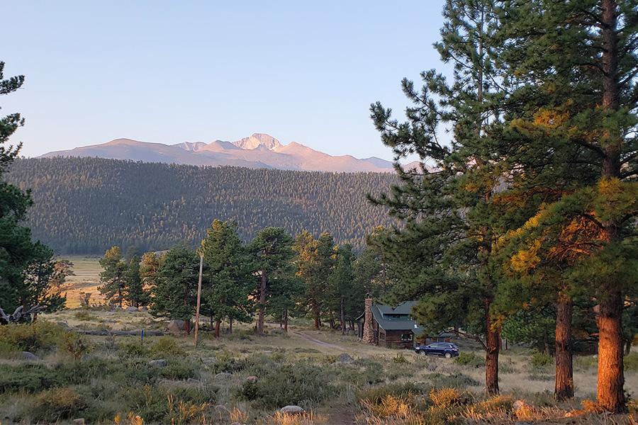 Beautiful views Moraine Park Campground