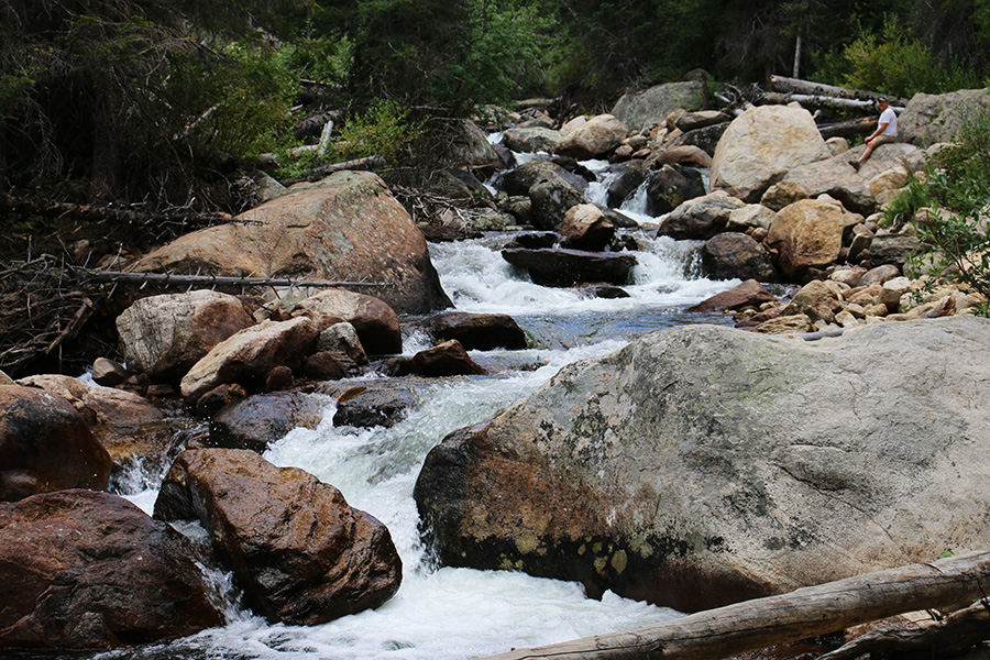Creek Ouzel Falls Hike