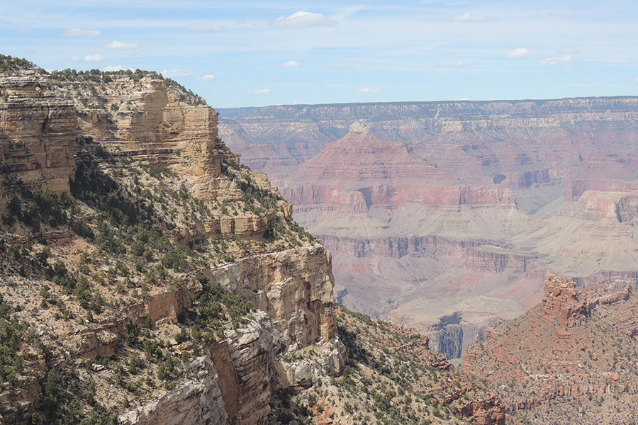 Grand Canyon Beautiful View South Rim