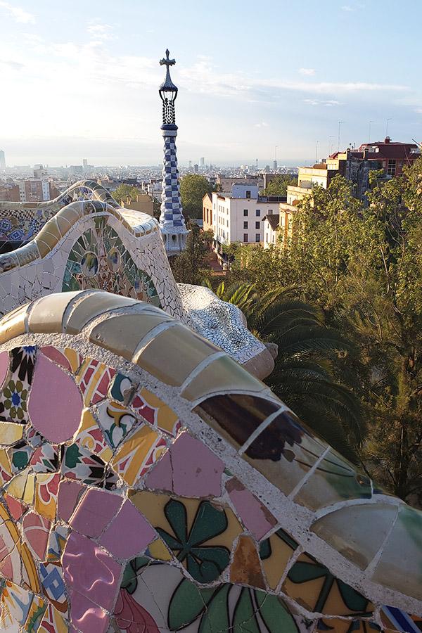 Park Güell Barcelona Architecture by Gaudi