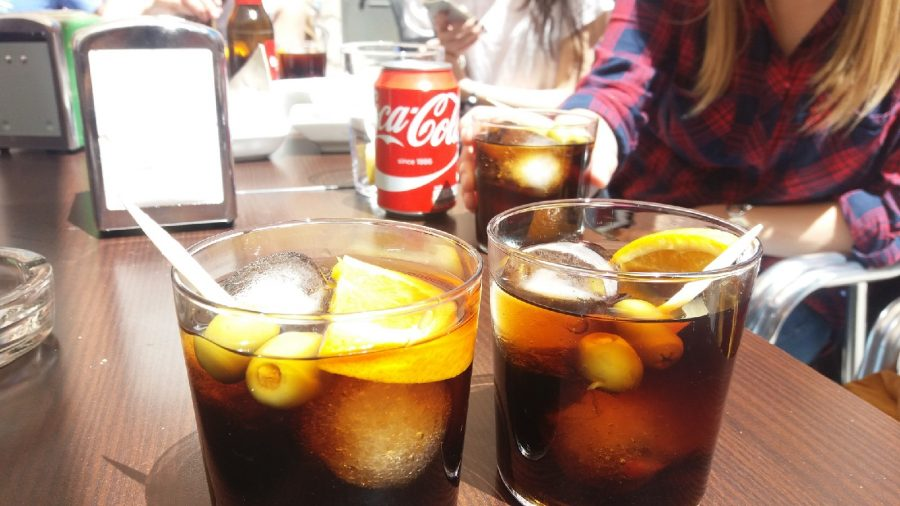 Drinking Vermut in Barcelona