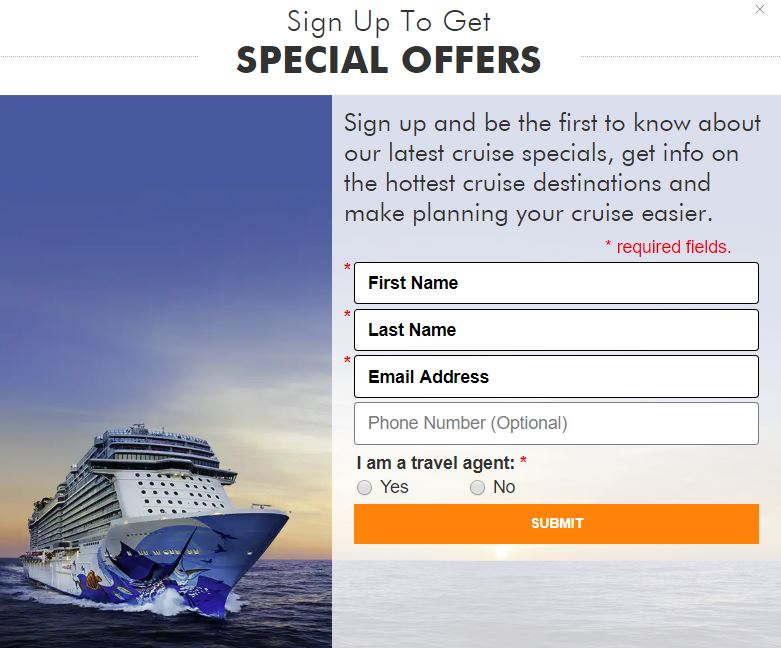 Norwegian Cruise Newsletter
