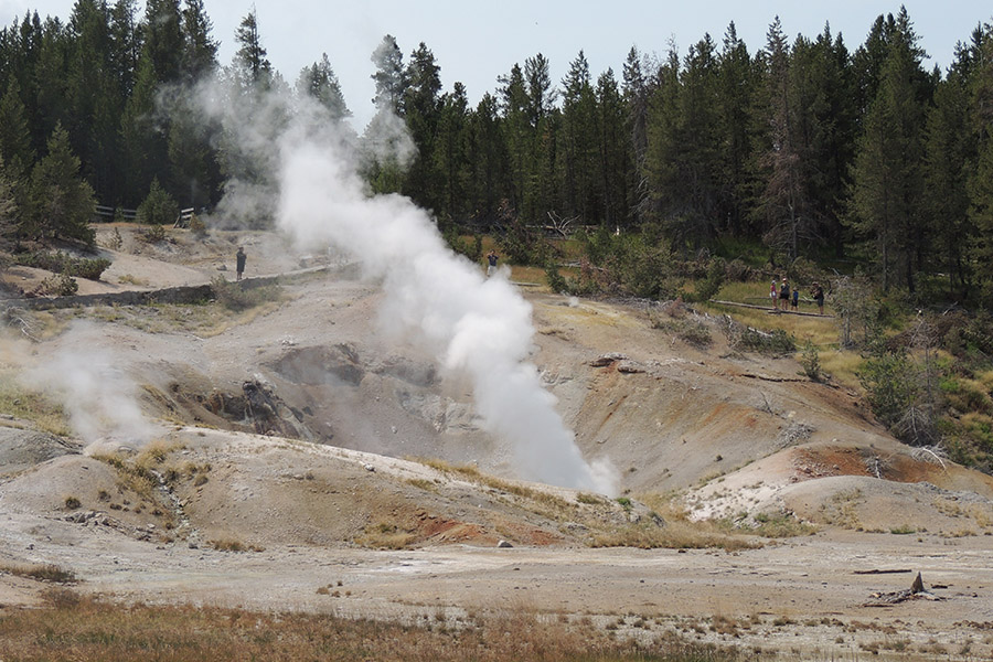 Yellowstone National Park is Open
