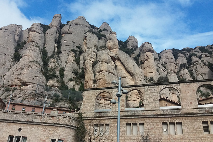 A trip from Barcelona to Montserrat