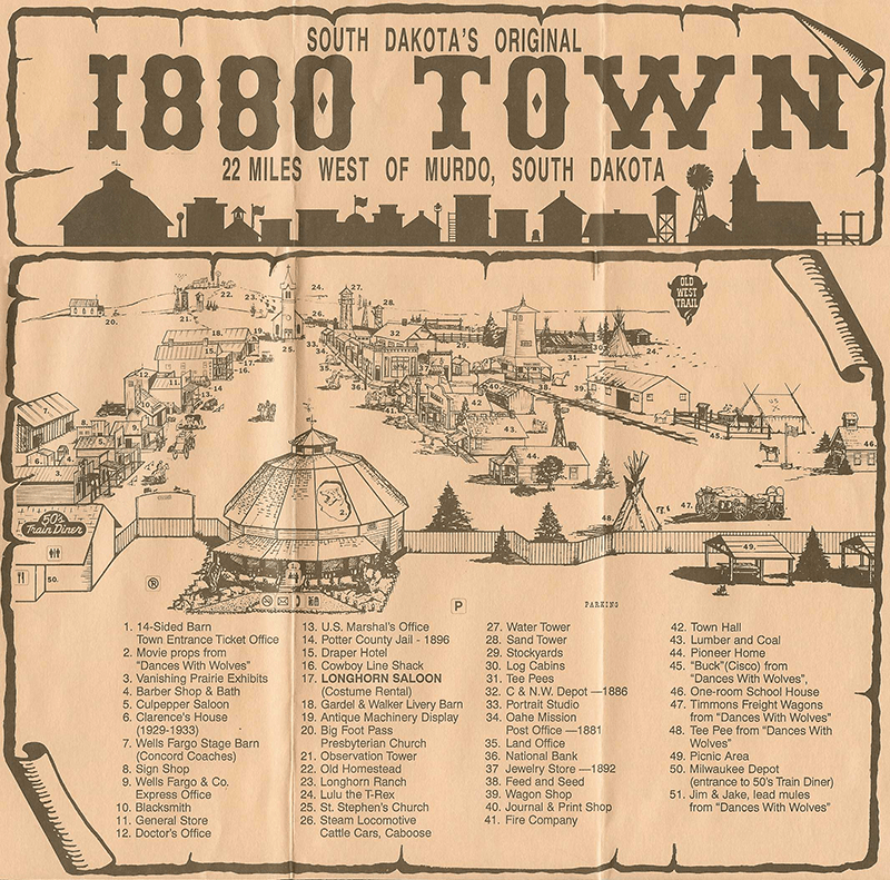 1880 Town South Dakota
