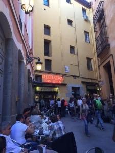Chocolateria San Gines Madrid Churros