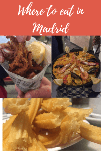 Where to eat in Madrid