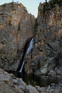Porcupine falls Big Horn National Forest