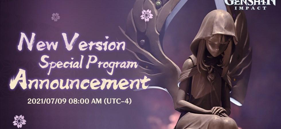 New Version Special Program Announcement