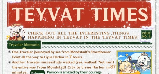 Teyvat Times Issue 4 Featured Image