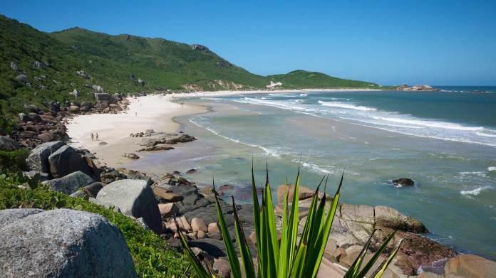 Praia Da Galheta Beach