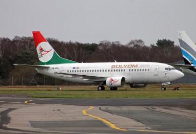 A'lmos Vezér 2013 óta a Bournemouth repülőtéren tölti kilátástalan napjait, időközben már a hajtóművek is kiszerelésre kerültek. (Fotó: Chris Chennell - Flickr)