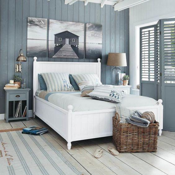 camera da letto Coastal Style
