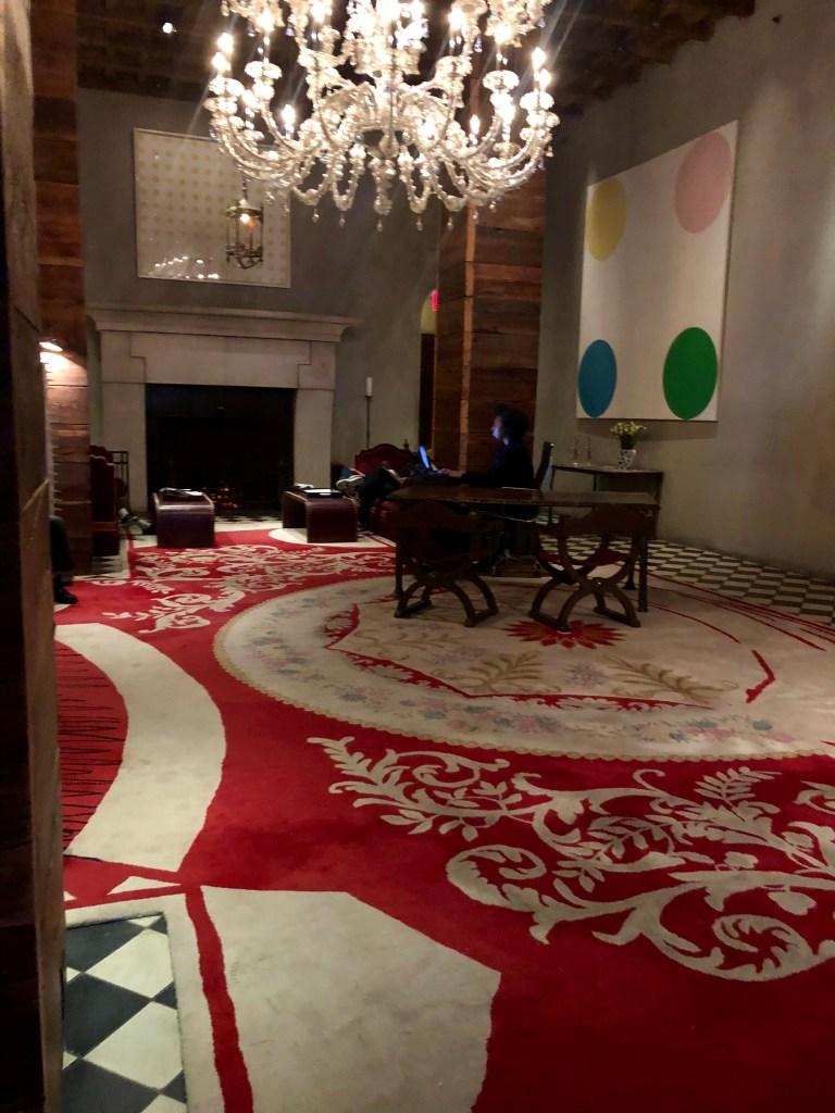 Gramercy Park Hotel, Hall