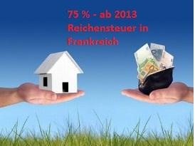 Steuern in Frankreich - 75 % ab 1Mio. Verdienst