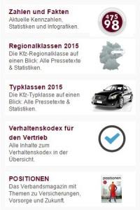 Ablichtung der www.gdv.de am 23.08.2015
