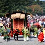 京都時代祭の2015年日程は10/22!見所や観覧席情報はこちら!