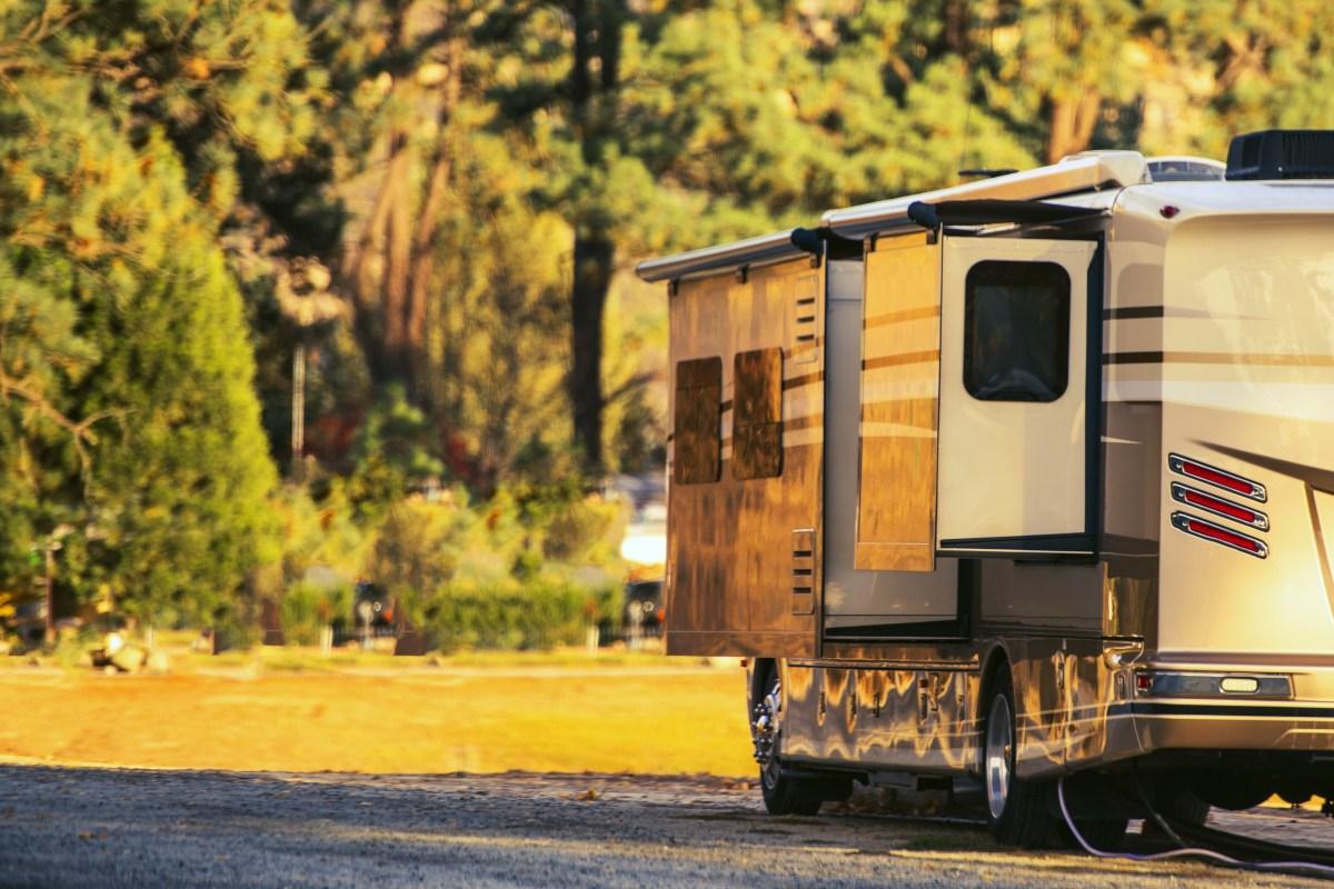Camping in Motorhome