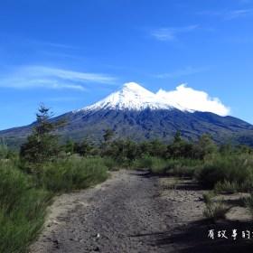 智利南部湖區Sendero Paso Desolación