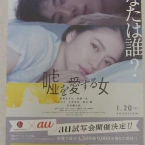 愛上謊言的女人 日本電影海報