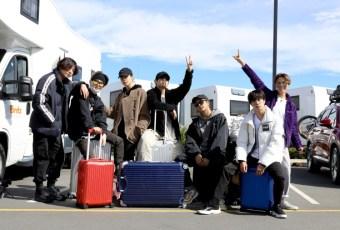 Aksi BTS Bersama RIMOWA Selama Tur di Selandia Baru
