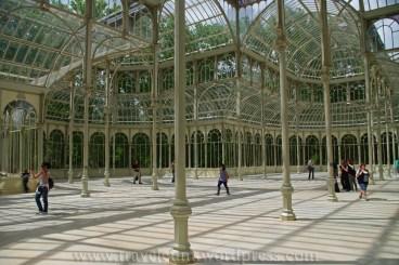 Madryt: Palacio de Cristal w Retiro