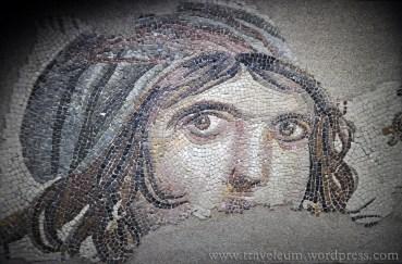 Muzeum Mozaiki Zeugma w Gaziantep - mozaika Cyganki