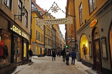 Świąteczny Sztokholm