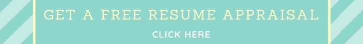 Free Resume Appraisal