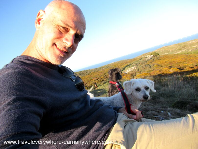 Sunny Day Wales for House sitting digital nomads
