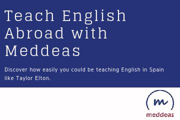 Teach English Abroad with Meddeas