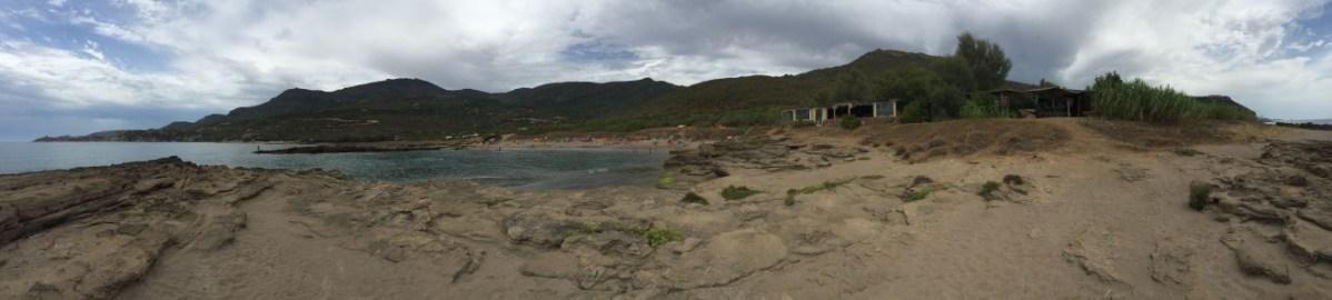 St Abba Druche Beach and Campsite, Bosa, Sardinia