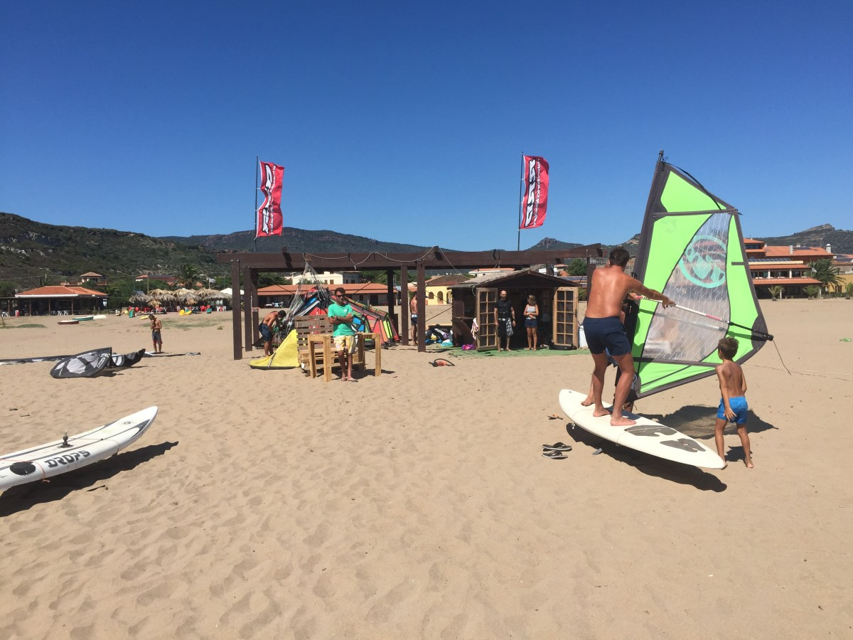 WindSurf Club Bosa, Sardinia