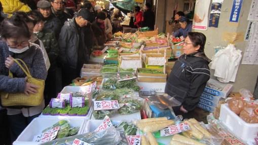 Tsujiki market area (2)