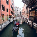 The Romantic Venice Gondolas
