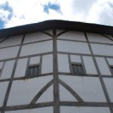 Outside View of the Shakespeare Globe