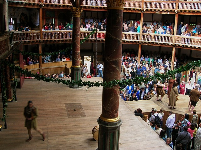 Shakespeare Globe Stage