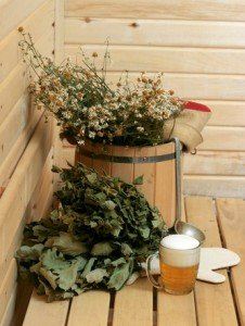 A banya is a Russian sauna